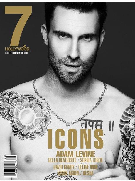 Adam Levine 7 Hollywood Magazine