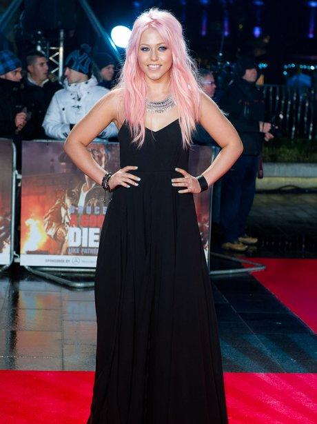 Amelia Lily attending the premiere of A Good Day t