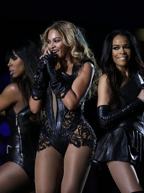 Beyonce and Destiny's Child perform at the Super B