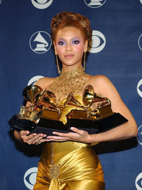 Beyonce Grammys 2004