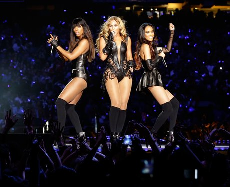 Destinys perform at the Super Bowl 2013