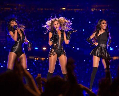 Destiny's Child reunite on stage at US Super Bowl 2013