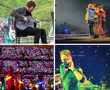 Coldplay's official Instagram account