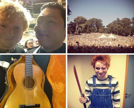 Ed Sheeran's official Instagram account