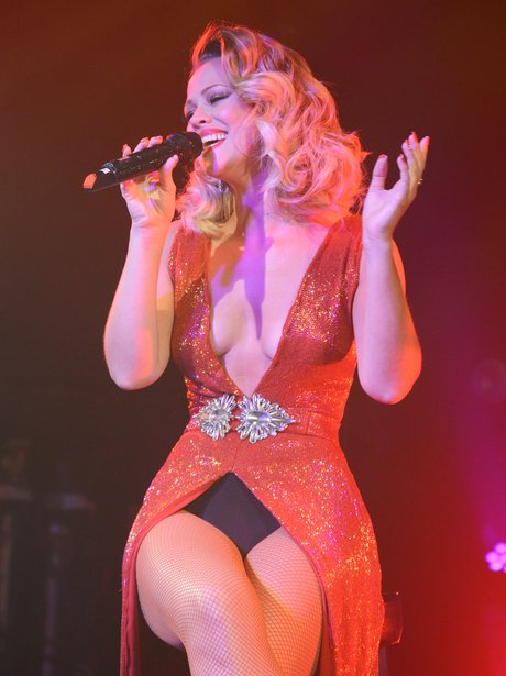 Kimberley Walsh performs live at G.A.Y club