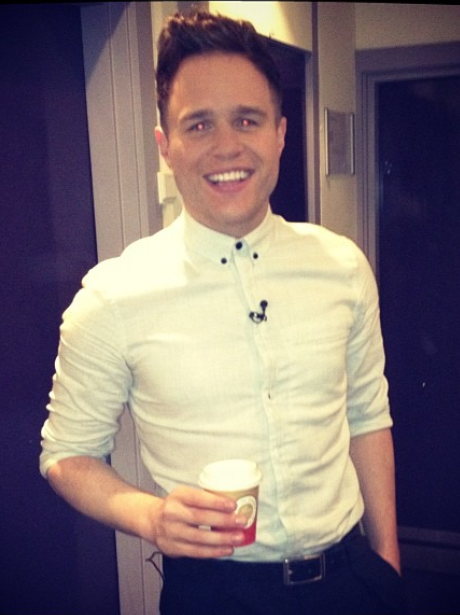 Olly murs arrives in America to promote his music
