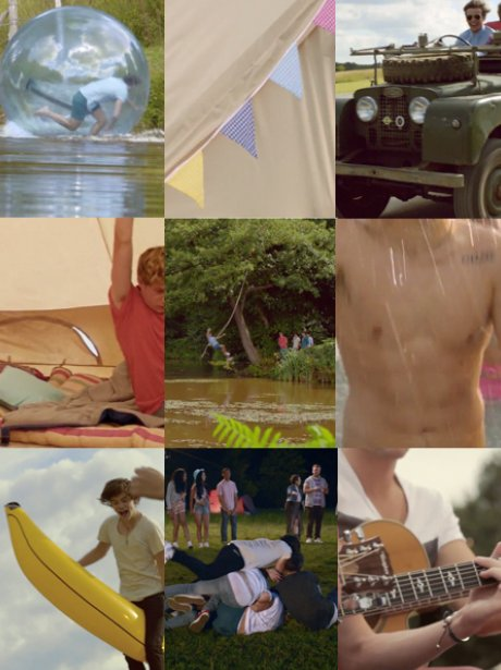 One Direction- 'Live While We're Young' mash up