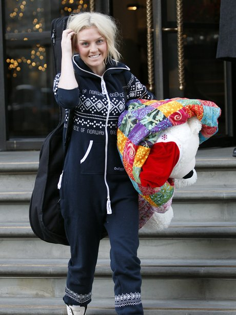 Little Mix star Perrie Edwards in a onesie