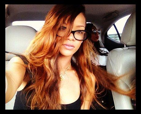 rihanna wearing glasses