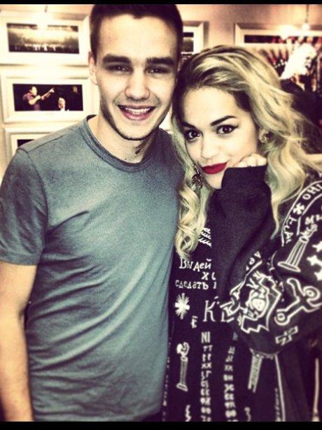 Rita Ora and Liam Payne at The X Factor UK tour