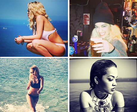Rita Ora's official Instagram account