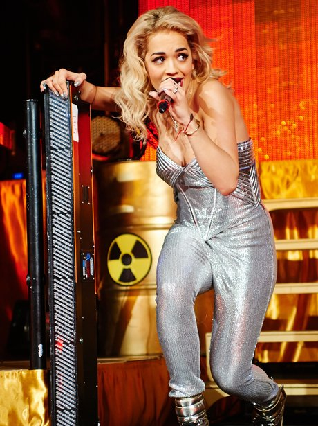 Rita Ora performs on her 'Radioactive' tour
