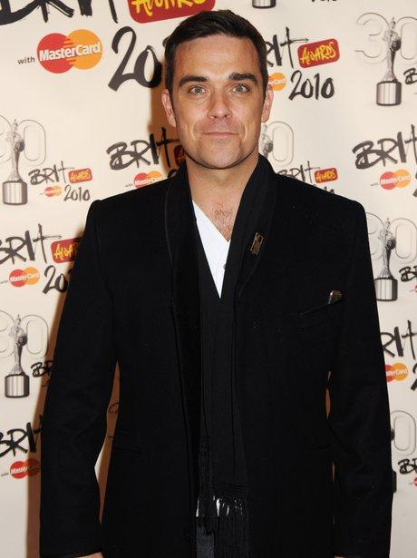 Robbie Williams BRITS 2010