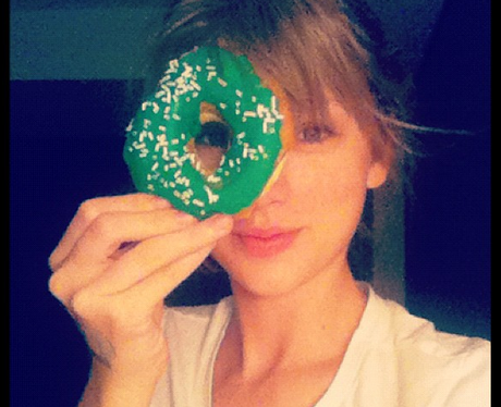 Taylor Swift celebrates St. Patrick's Day