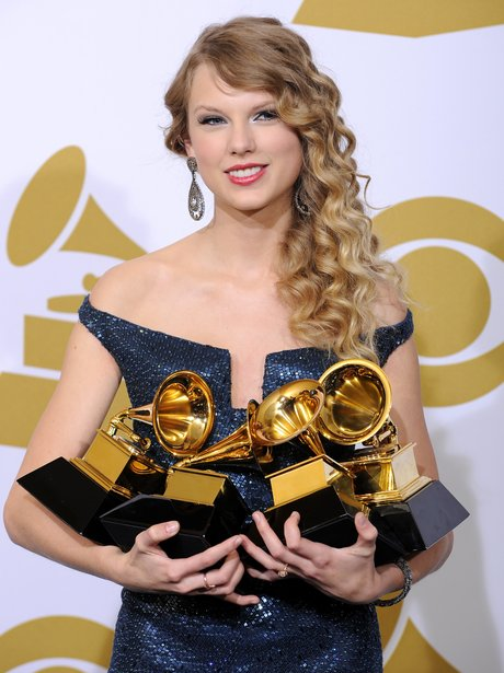 Taylor Swift Grammys 2010