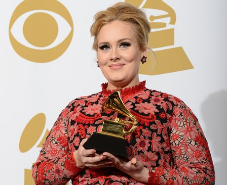 Adele at the 2013 Grammy Awards