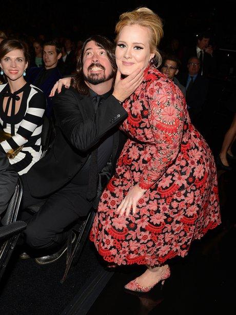 Adele Photobomb