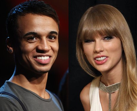 Aston Merrygold and Taylor Swift