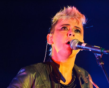 Cat Power on stage