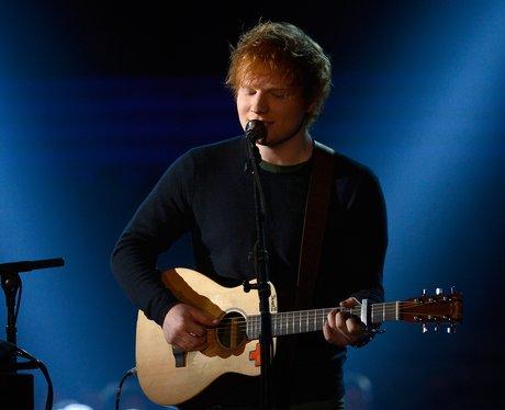 Ed Sheeran live at the 2013 Grammy Awards