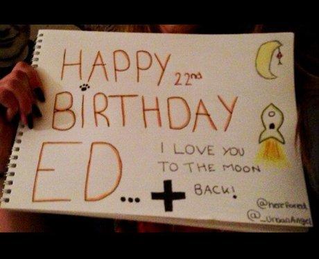 Herefored Ed Sheerans 22nd Birthday Card Capital