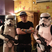 Image 4: Ed Sheeran poses with Stars Wars stormtroopers