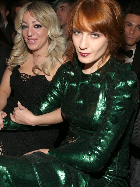 Florence Welch at the 2013 Grammy Awards