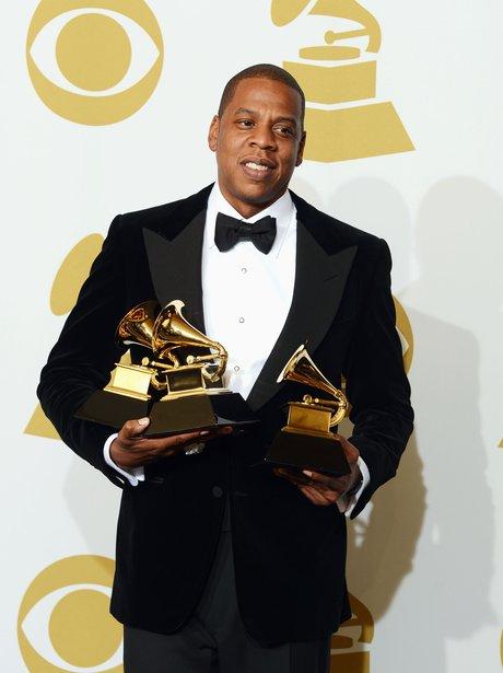 Jay-Z at the 2013 Grammy Awards