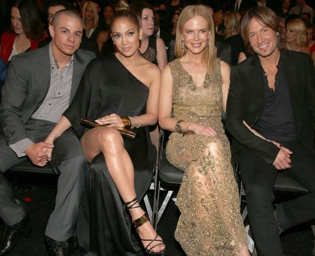 Casper Smart,  Jennifer Lopez, Nicole Kidman and K