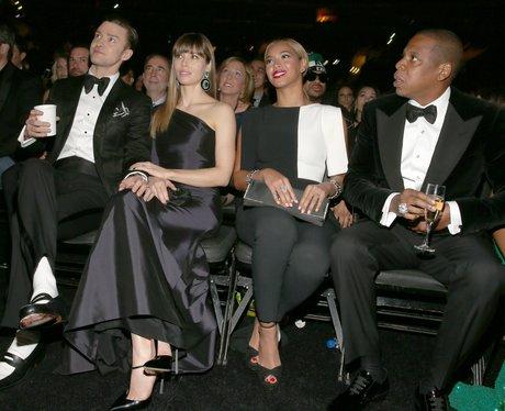 Justin Timberlake,  Jessica Biel, Beyonce and  Jay