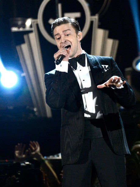 Justin Timberlake performs at the Grammy Awards 20