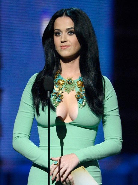 Katy Perry at the 2013 Grammy Awards