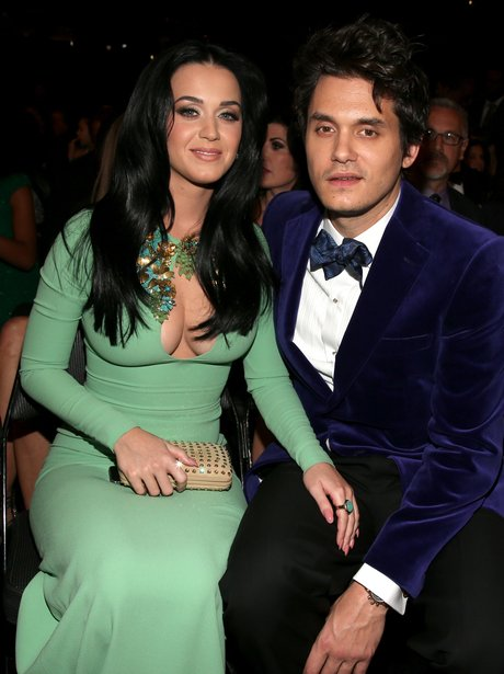 Katy Perry and John Mayer at the Grammy Awards 2013