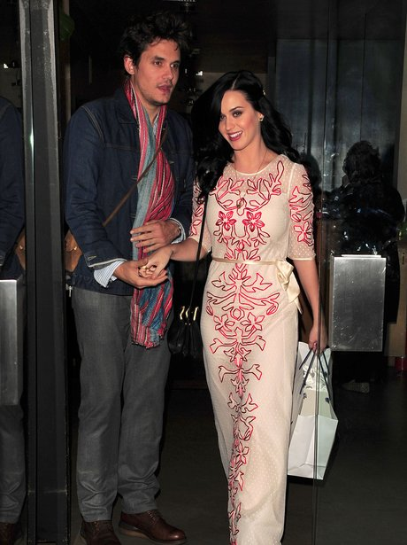 Katy Perry and John Mayer on Valentines Day