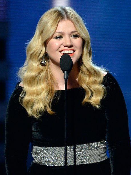 Kelly Clarkson live at the 2013 Grammy Awards