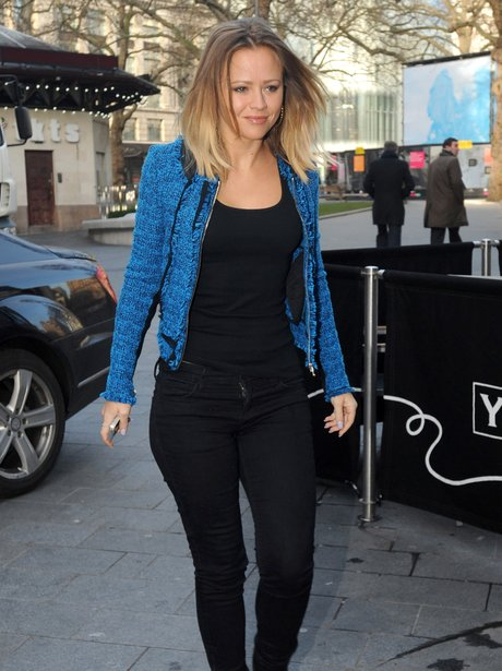 Kimberley Walsh in between rehearsals for the band's new tour