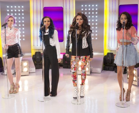 Little mix perform on this morning