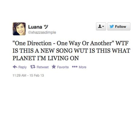 One Direction One Way Or Another Fan Response