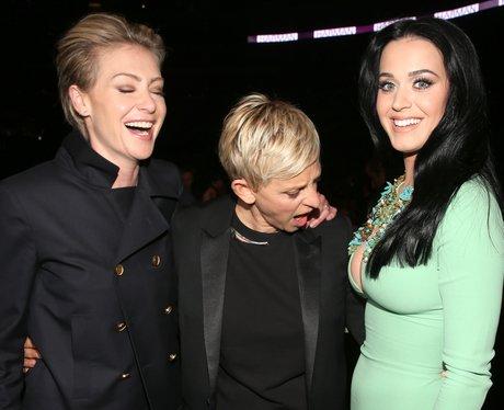 Portia de Rossi, Ellen DeGeneres and Katy Perry 20