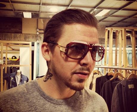 Professor Green wearing sunglasses