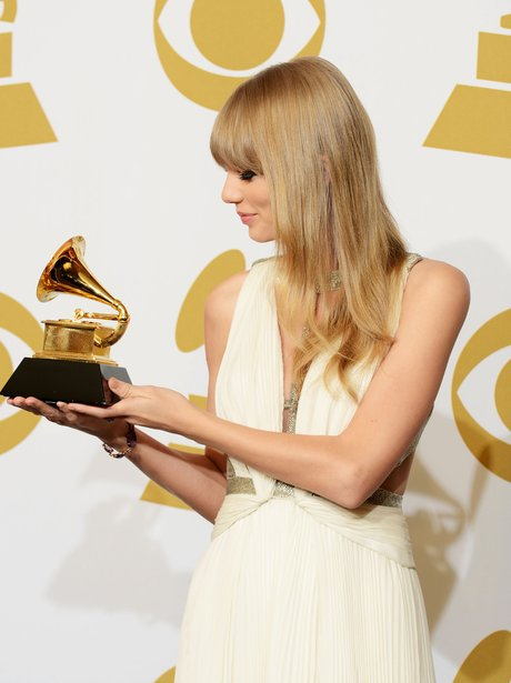Taylor Swift at the 2013 Grammy Awards
