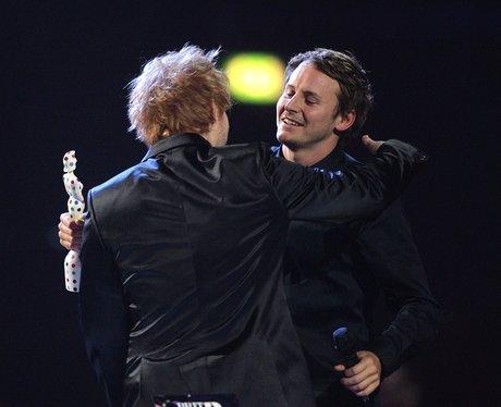 Ed Sheeran and One Direction BRIT Awards 2013