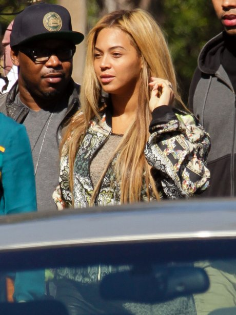 Beyonce wearing no make-up