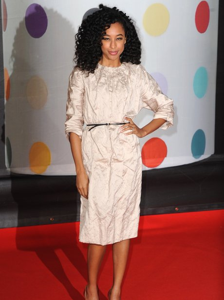 Corinne Bailey Rae at the BRIT Awards 2013