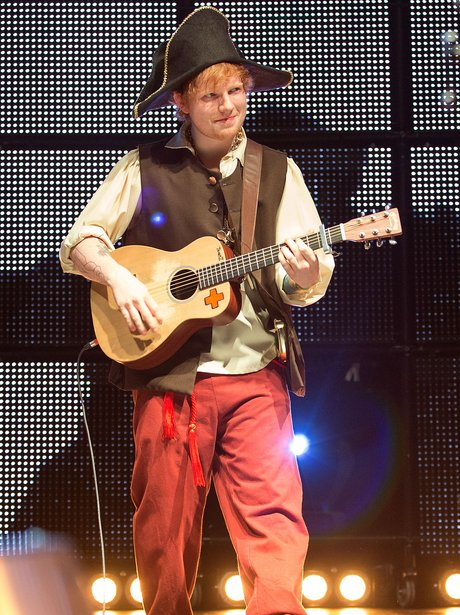 Ed Sheeran Performs In LA