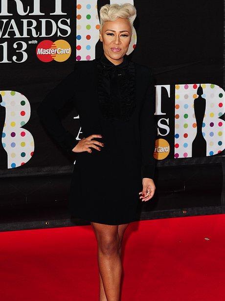 Emeli Sande at the BRIT Awards 2013