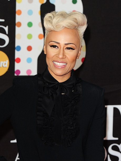 Emeli Sande at the BRIT Awards 2013