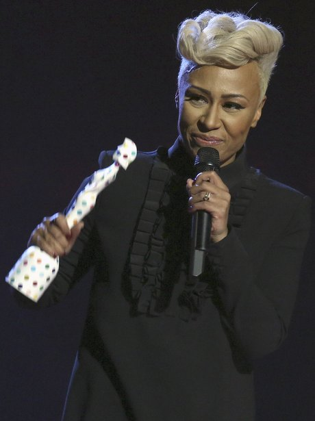 Emeli Sande 2013 BRIT Awards On Stage