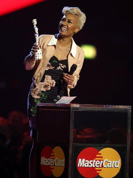 Emeli Sande 2013 BRIT Awards On Stage