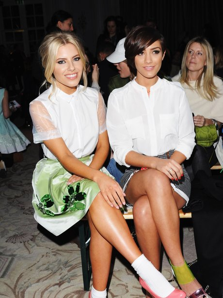 Frankie Sandford and Mollie King 2013